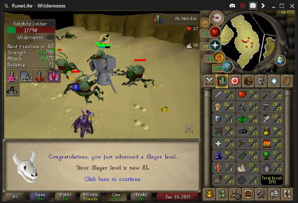 osrs slayer trainers
